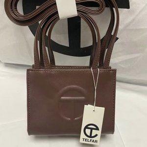 Telfar Small Chocolate Brown Shopping Bag